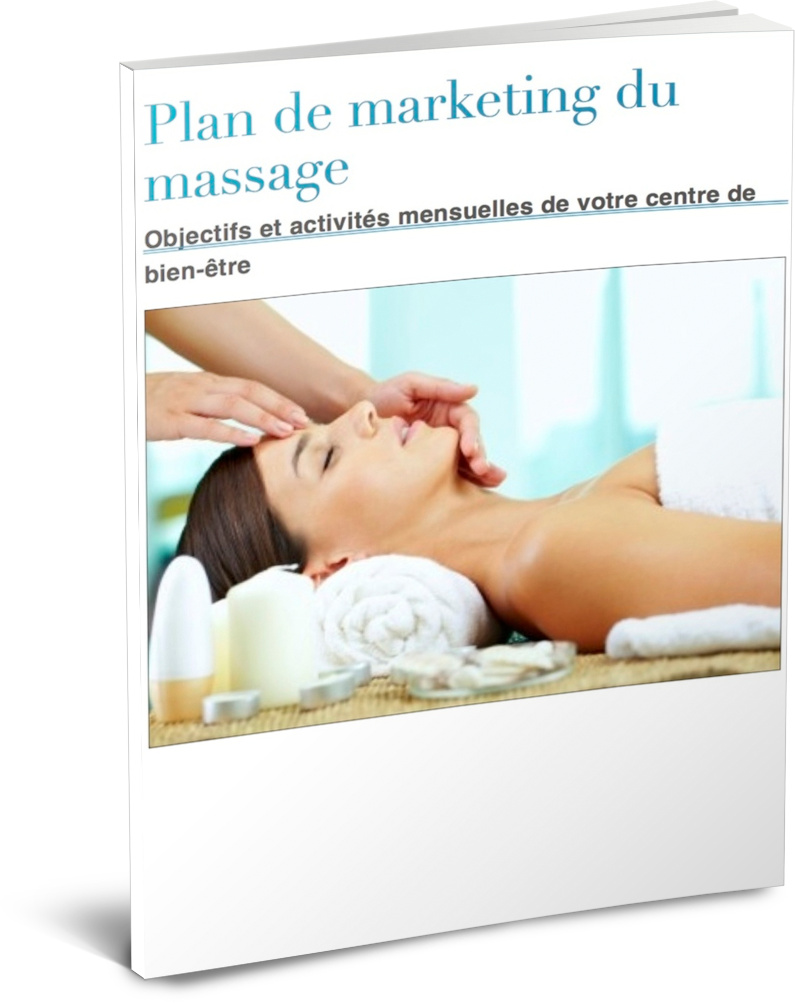 ebook plan de marketing du massage
